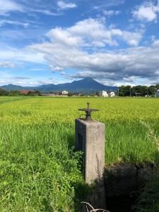 2019年の真夏日大山の山に感動